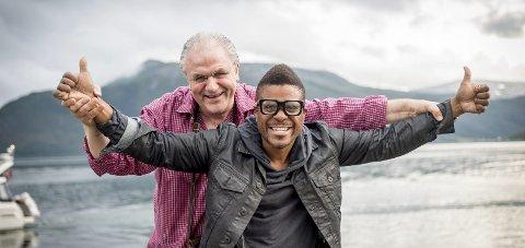 På tur: Arvid Martinsen og Freedom Bremner er klar for turne med The Funk Disease i regi av Nordnorsk Jazzsenter. Foto: Bjorn Leirvik