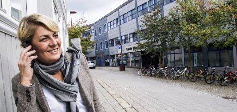 Fornøyd: Fylkesdirektør Inger Anne Speilberg i Nav Akershus.
