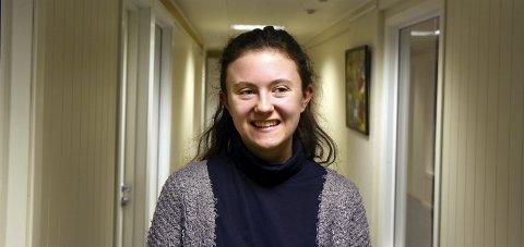 Glad: Hedda Wike, leder av ungdomsrådet i Holmestrand, ser fram til å etablere ungdomsklubb i Backergården.arkivfoto