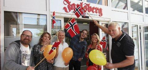 Feirer:  Fra venstre, Jarl Rehn-Erichsen, Unni Sveberg, Lars Ivar Hordnes, Magnus Franer-Erlingsen, Ulrikke G. Narvesen og Pål Norby.