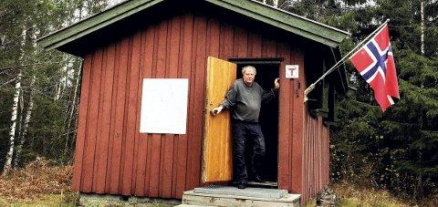 IIKKE SLIK: Frivillig Knut Slemdal blir ikke å treffe her på Nordre Løkenseter med det første. Arkivfoto