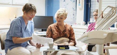 ØKT TILBUD: Fylkeskommunen åpner nå for en gradvis utvidelse tannhelsetilbudet.