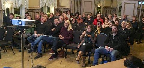 GODT OPPMØTE: Hele 51 bedrifter fra rundt om i kommunen var representert på Næringsforeningens generalforsamling. FOTO: PRIVAT