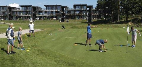 Kragerø Golfklubb har fått 130.000 kroner i krisepakke.