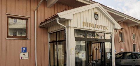 Avgjøres snart: Spørsmålet om kommunen skal kjøpe lokalene hvor biblioteket er, kommer opp i formannskapet 1. februar.