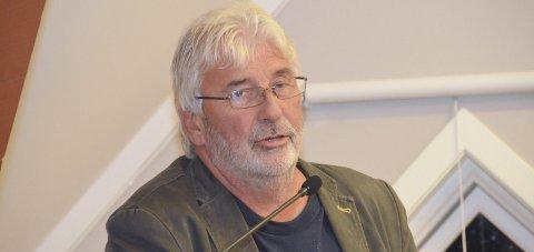FORSINKET: Havnestyreleder Øyvind Olsen (SV) orienterte om forsinkelser for Stilnestangen Nord og Stueren i kommunestyret.