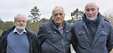 TØFFE KARAR: Desse tre karane deltok aktivt i redningsarbeidet i  Rennedalen i 1970. Frå venstre:  Otto Blokhus, Kåre Nedrevåg og Agnar Melkersen.