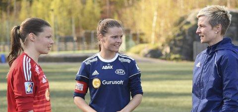 Nanset-SUKSESS: Søstrene Caroline Akerholt Eid (t.v.), Trine Akerholt Eid og Camilla Akerholt Eid kunne glede seg over seier.