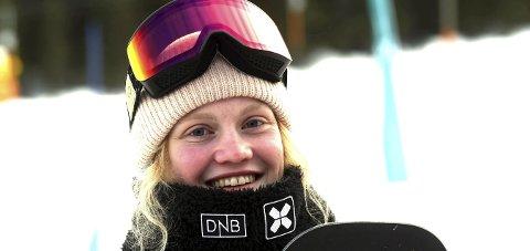 SJUENDELASS: Tina Steffensen var 75 hundredeler fra å komme til finalen i verdenscuprennet i slopestyle i Seiser Alm.