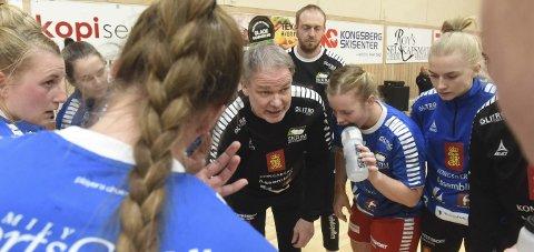 HAR OVERTATT: Pål Oldrup Jensen har nå overtatt som hovedtrener for Skrims håndballdamer.FOTO: OLE JOHN HOSTVEDT