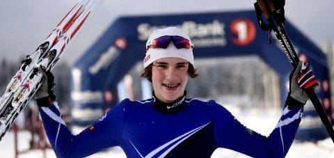 VANT TO RENN: Skrimløperen Magnus Næsset vant Eggedalsrennet lørdag og Lauritz Bergendahls Minneløp søndag.