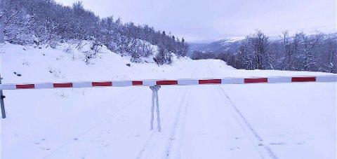 STENGT eller ikke: Veien over Imingfjell er gjenstand for debatt. Foto: Privat