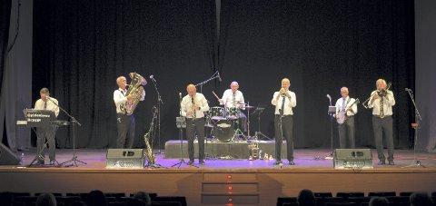 TRADJAZZ: Orkesteret Gyldenløwe Brygge entrer Sylling kirke 20. november. Foto: Olav Barhaugen