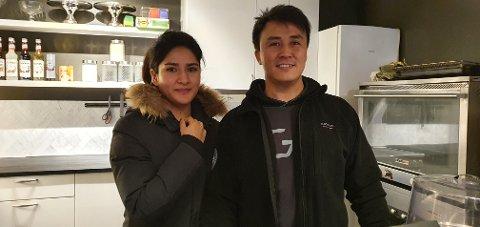Marzia Mohammedi og Hussain Murtazaie møttes for fem år siden. Nå starter de kafé i lag.