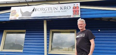 Kroa til Asbjørn Andersen, Borgtun kro, fyller 25 år i dag.