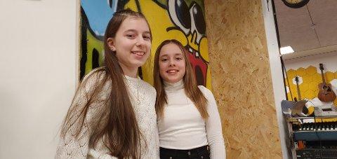 Gyda Sjøen og Angelin Jakobsen gleder seg til UKM om en måned.
