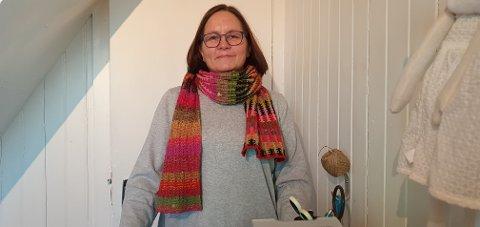 Janett Haug Larsen slutter som lærer og satser alt på Sjokoladerommet.