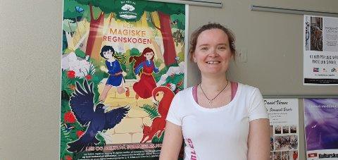 Årets tema er den magiske regnskogen og 1.juni er det nasjonal «kickoff» hvor biblioteket har sendt et bidrag.