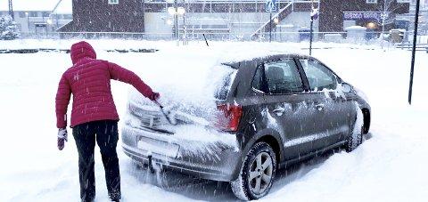 Vinter: Det ser ut til at det kan bli en ny runde med snømåking.