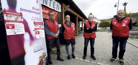 Demensaksjon: Lokallaget i Vågå ønskjer seg både pengestøtte og fleire medlemmar.