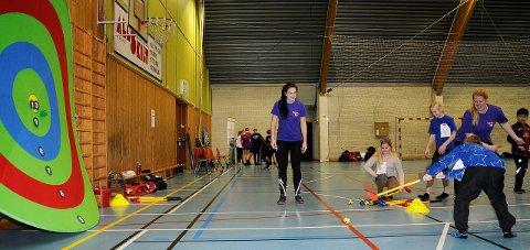 Mange aktiviteter: Mange aktiviteter står på programmet når det inviteres til grenseløs idrettsdag i Fjellhallen i morgen.
