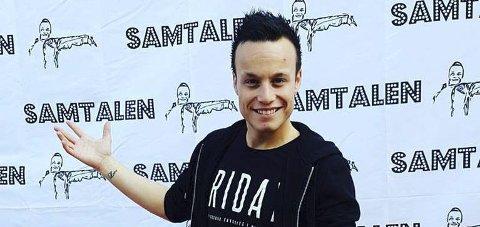 Turklar: Bloggeren Magnus Jackson Krogh fra Gjøvik reiser til New York for å videoblogge om ADHD. foto: innsendt