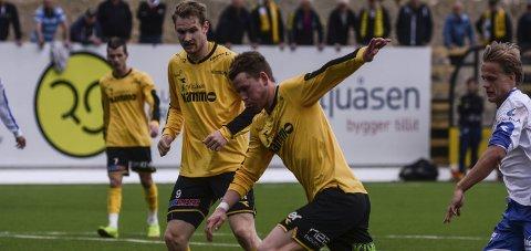 Scoret: Kristian Lønstad Onsrud spilte i likhet med Marcus Gondra Krug på andrelaget da Raufoss tapte mot Trygg/Lade. Arkivbilde