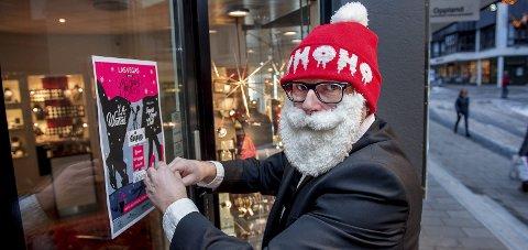 Julegjøn: Leif Anders Wentzel varter opp med storband, julejazz og mye moro i Fjellhaven 17. desember.