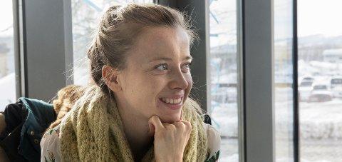 Snakker ut: Totningen Stina Kjelstad har mye hjertet i denne runden av OA-podkasten «Backstage». arkivbilde