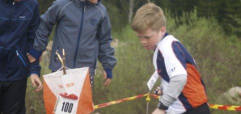 Toten-Toll har mange, unge o-løpere som har mulighet til å delta i verdens o-dag tirsdag 23. mai. Foto: Hans Ove Danielsen.