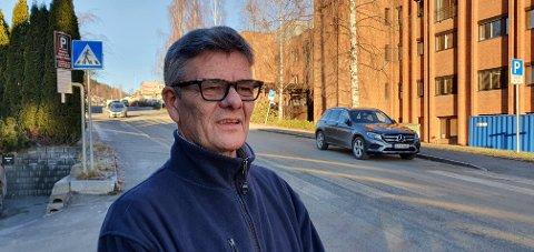 TUNGT: AMK-sjef Arne Stokke sier til OA at hele avdelingen har vært preget av den tragiske hendelsen.