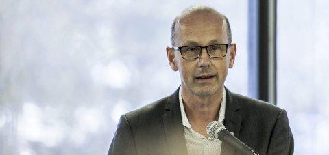 STOLT: Ås-ordfører Ola Nordal er stolt over at kommunen kommer høyt på kåringen til NHO.