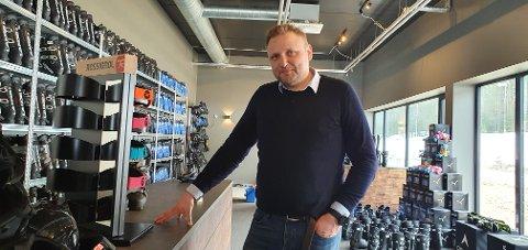 POSITIV EFFEKT: Jan Terje Ås i bookTrysilonline tror at Trysil kan få en positiv effekt av koronapandemien.