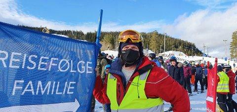 IMPONERT: Trond Bertheussen i Skistar er så langt imponert over måten skigjestene har håndtert smittevernreglene på i vinterferien.