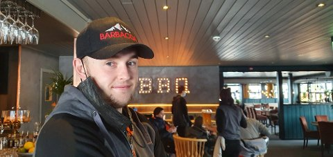 GOS START: Restauranten til Marcus Öhlin i Trysilfjellet, Barbacoa, har fått en god start, tross koronakrisa.