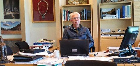 USIKKER: Erik Sletten er usikker på om han vil stille som Sp's ordførerkandidat i Trysil i 2023.