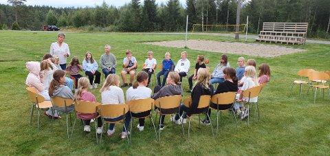 HELGESEMINAR: Rakkestad Skolekorps arrangerte helgeseminar på konferanse- og misjonssenteret i Degernes.