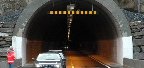 Korgfjelltunnelen stenges.