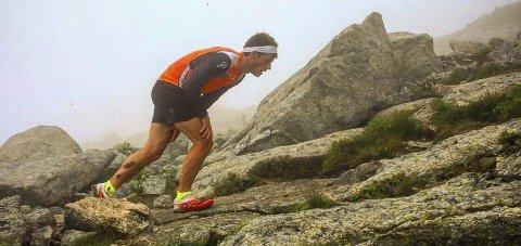 HØYE MÅL: Den tidligere langrennsløperen Rolf Einar Jensen har bostavelig talt satt seg høye mål dette året.