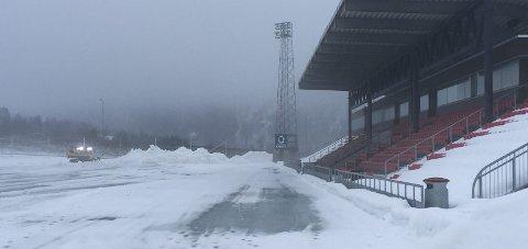 Formannskapet har enstemmig vedtatt å investere i varmeveksler til Sagbakken stadion.