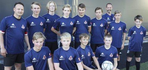 Åga IL sitt G15-lag fikk en meget god start på årets Norway Cup-turnering. Foto: Stian Forland
