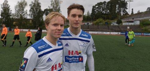 Ny arena: Brumunddals juniorer er klare for Interkretsserie B og Jonas Jensbak Nysæter  og Eivind Strand Osmo kan få en ny arena.