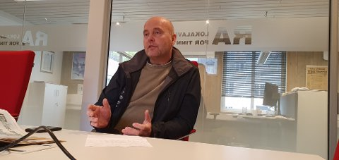 VARSEL: Ordfører Steinar Bergsland forteller til RA at han ikke ble fortalt hvor i Gaustaområdet Arbeidstilsynet fattet mistanke om brudd på karantenereglene.