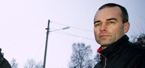 To uker: Byggeleder Yngvar Jahren frykter ikke trafikkproblemer under arbeidet  på Fetveien.Foto: Lisbeth Lund Andresen