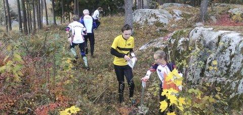 BRYR SEG IKKE OM FROST: I 35 år har Røyken O-lag arrangert Frostsprinten og det gjør de i år også.