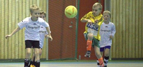 KLART: Graabein Innecup går av stabelen kommende helg, og det skal spilles 181 fotballkamper.