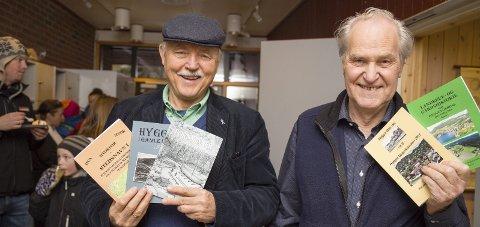 INVITERER: Guttorm Grundt og Jan Erik Ask inviterer til historiekveld om Hyggen skole og fornminner i Hyggen og Jerdal onsdag.