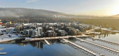 Nordre jarlsberg brygge: En rekke boliger ble omsatt i dette området. FOTO:SVEIN-IVAR PEDERSEN