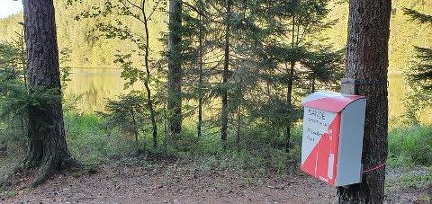 MÅNEDENS POST: I september går til turen til leirplassen ved Borge Langevann.