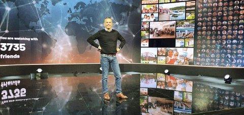 LIVE FRA OSLOFJORD: Onsdag ettermiddag gikk adm.dir. Stian Fuglset på lufta i en digital verdenskongress og fortalte om «Oslofjord Hybrid Event».